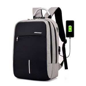 Travelling Anti-Thief Backpack with USB Port