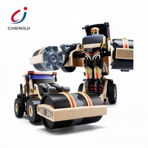 Electric robot construction vehicle car