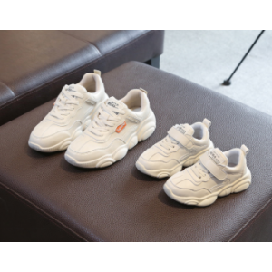 casual children shoes sports shoes white sneaker