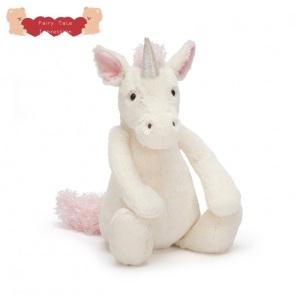 Net bashful Unicorn girl super soft plush toy doll
