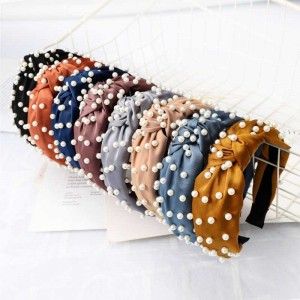 Hot selling fashion women's pearl headband
