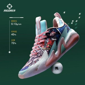 Indoor and outdoor low top basketball shoes