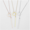 Geometric Necklace Jewelry Stainless Necklace
